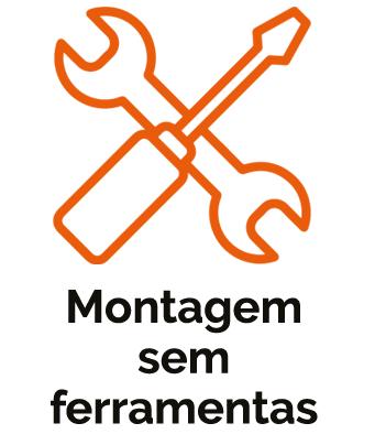 MONTAGEM SEM FERRAMENTAS